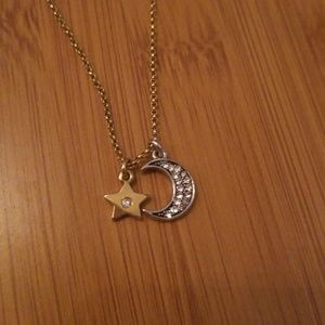 Juicy Couture Moon Necklace